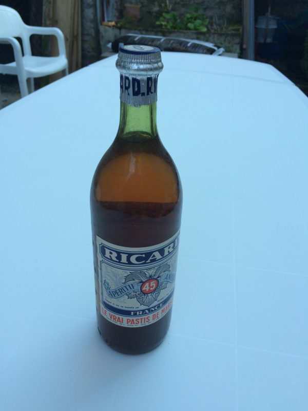 bouteille RICARD 1960