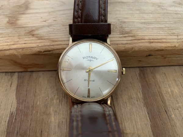 Ancienne montre homme en or 9ct - Rotary