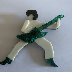Broche fantaisie - Guitariste
