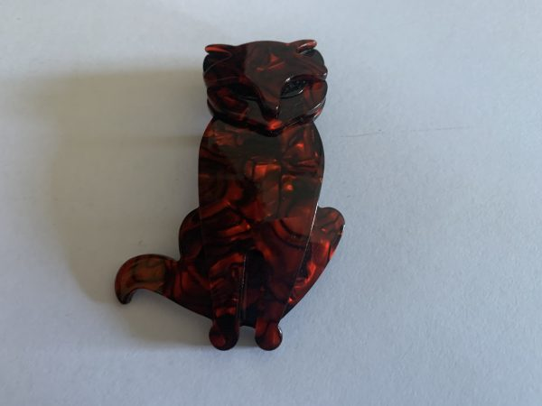 Broche fantaisie - Chat